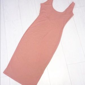 Missguided Dresses - Misguided NWT Terracotta Midi Dress Scoop size 8
